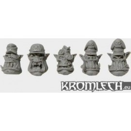 Orc Veteran heads in Helmets