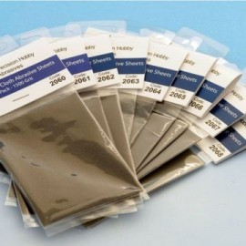 Micro Finishing Cloth Abrasive Sheets Refill - 1800 Grit