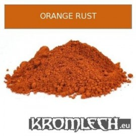 Orange Rust Weathering Powder