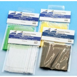 Microbrush - Yellow / Fine - 25 Pack