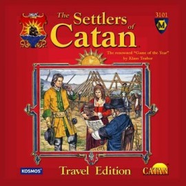 Settlers of Catan: Travel Edition.