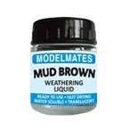 Modelmates Weathering Liquids - Mud Brown