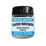 Modelmates Weathering Liquids - Sand Brown