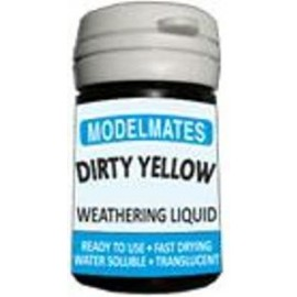 Modelmates Weathering Liquids - Dirty Yellow