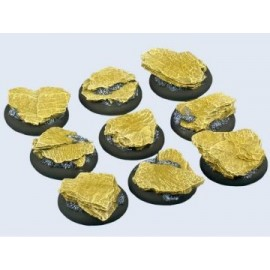 30mm Lipped Round Shale Bases