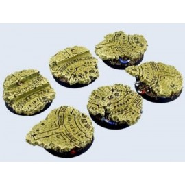 40mm Round Temple Bases