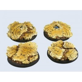 50mm Lipped Round Temple Base