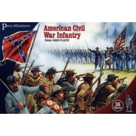 American Civil War Infantry (36 Plastic Figures)