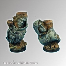 Ancient Ruins 25 mm Fly round bases Set 1