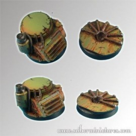 Platforms 40mm Round Bases Set 2