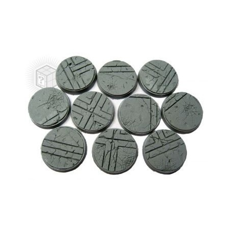 Beveled Edge: 25mm Ruined Temple Bases