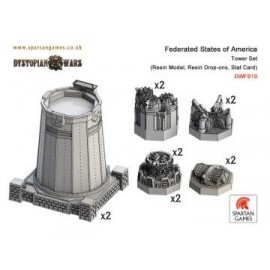 Federated States of America Tower Set