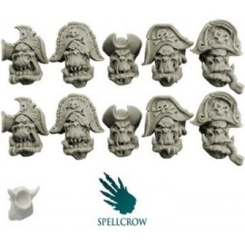Freebooters Orc Heads