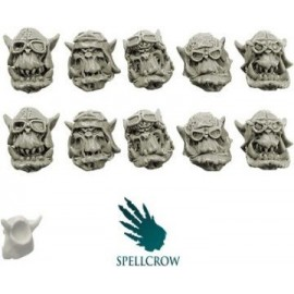 Ork Storm Flying Squadron Heads