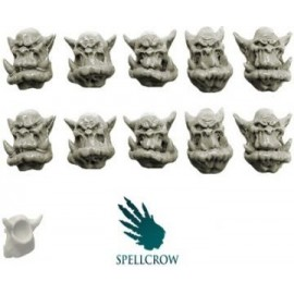 Standard Orc Heads 3