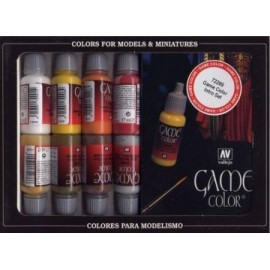 Game Color Set - Leather and Metal (x16)