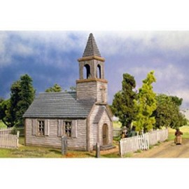 Weatherboard American Church 1750 - Modern Day