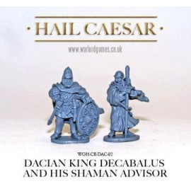 Decabalus and Sasages - Dacian King and Advisor
