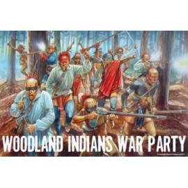 Woodland Indians War Party