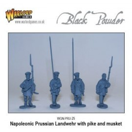 Napoleonic - Prussian Landwehr with Pike / Musket (10)