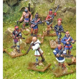 Indian Reinforcements Muskets Pack
