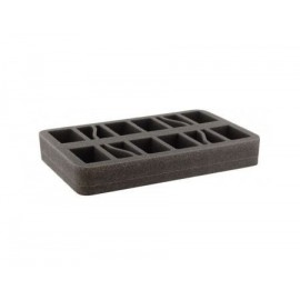 35mm (1.4 Inch) half-size Figure Foam Tray with Base - 8 Tanks FOW