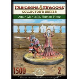 Anton Marivaldi and Human Pirate - Limited Edition