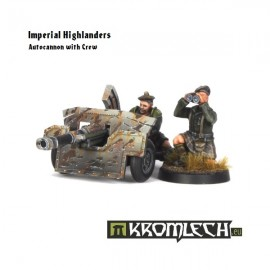 Imperial Highlanders Autocannon 2+weapon