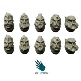 Space Knights Wolves heads