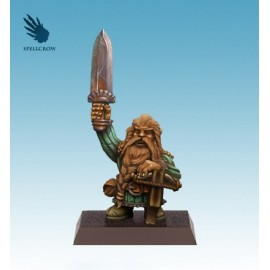 Gnome with Crossbow and Sword