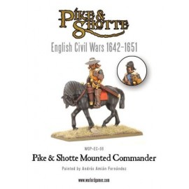 Pike and Shotte Mounted Commander