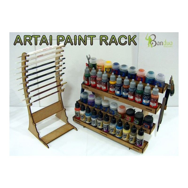 Acrylic Paint Storage Ideas