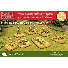 Russian Infantry Heavy Weapons 39 Figs 20mm