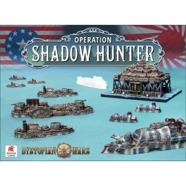 Dystopian Wars Operation Shadow Hunter Two Player Battle Box