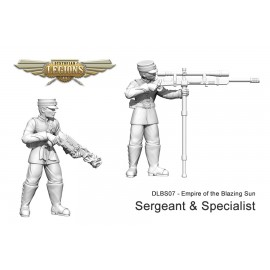 Empire of the Blazing Sun Imperial Rifle Sergeant and Specialist