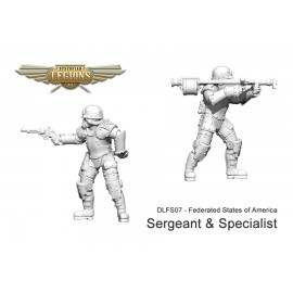 Federated States of America Armoured Infantry Sergeant and Specialist
