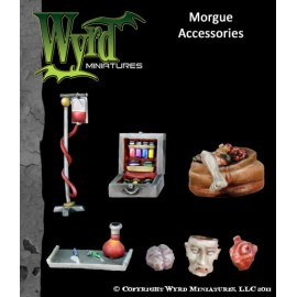 Morgue Base Inserts – Accessories