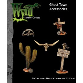 Ghost Town Base Inserts – Accessories