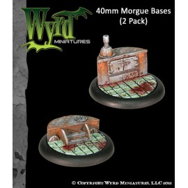 Morgue Base Inserts – 40mm