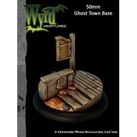 Ghost Town Base Inserts – 50mm