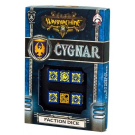 Warmachine Cygnar Faction Dice