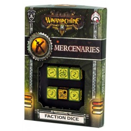 Warmachine Mercenaries Faction Dice