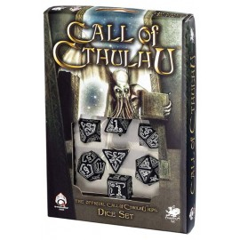 Call Of Cthulhu Black/Glow in the Dark Set (7)