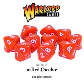 D10 Dice Pack - Red