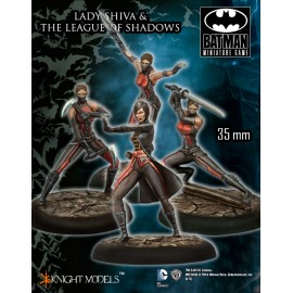 Lady Shiva and League of Shadows
