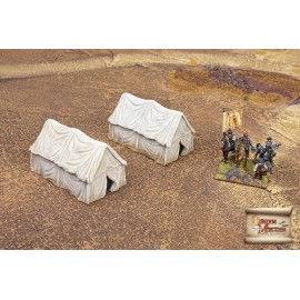 Western style military tents big