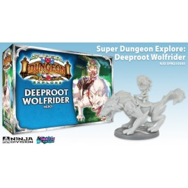 Super Dungeon Explore Deeproot Wolf Rider Expansion