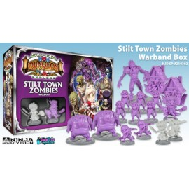Super Dungeon Explore Stilt Town Zombies Warband Expansion