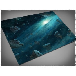 4ft X 6ft, Asteroid Field Theme Mousepad Games Mat