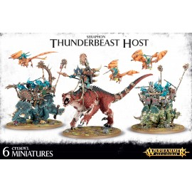Seraphon Thunderbeast Host
